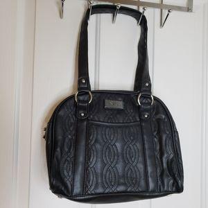 Belle Russo Black Shoulder Bag
